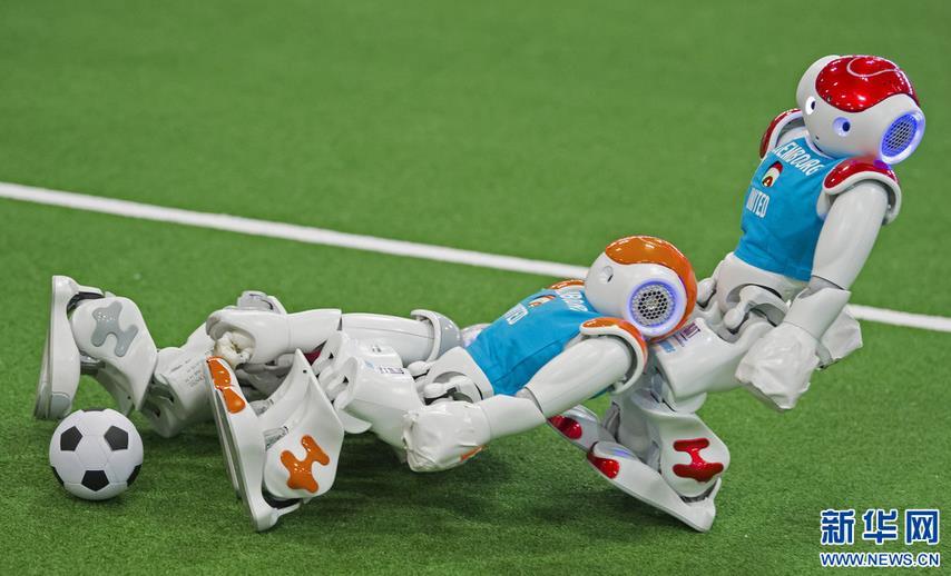 <b>机器人世界杯德国公开赛举行</b>
