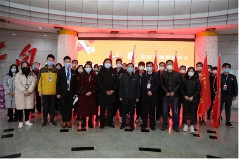 延安市融媒体中心疫情防控青年突击队授