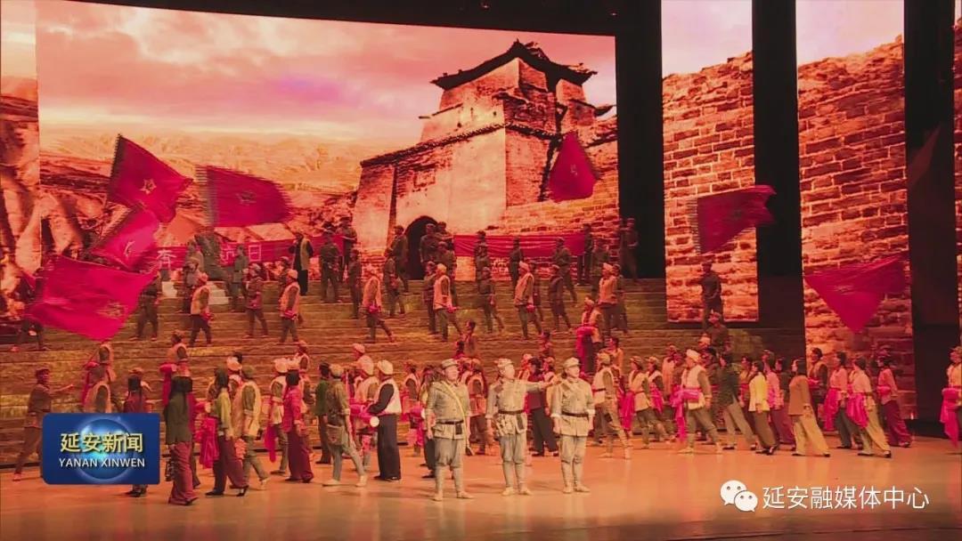《永远的长征》公益演出上演 献礼八一建军节