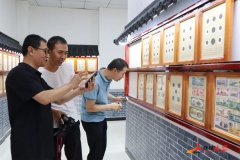 延安市延川县第一家钱币博物馆开馆